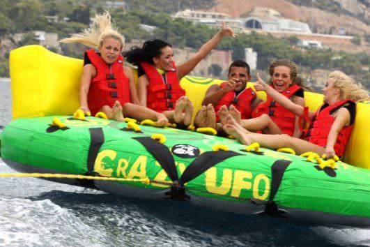Water Activities & Temple of Poseidon Riviera Tour