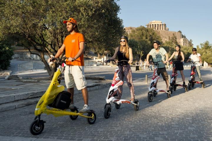 Acropolis Walking & Athens Trikke Combo tour 14