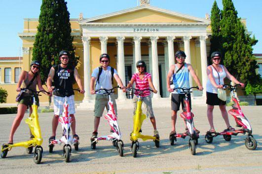 Acropolis Walking & Athens Trikke Combo tour 13