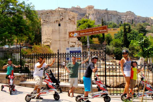 Shore Excursion & City Highlights on Trikke 7