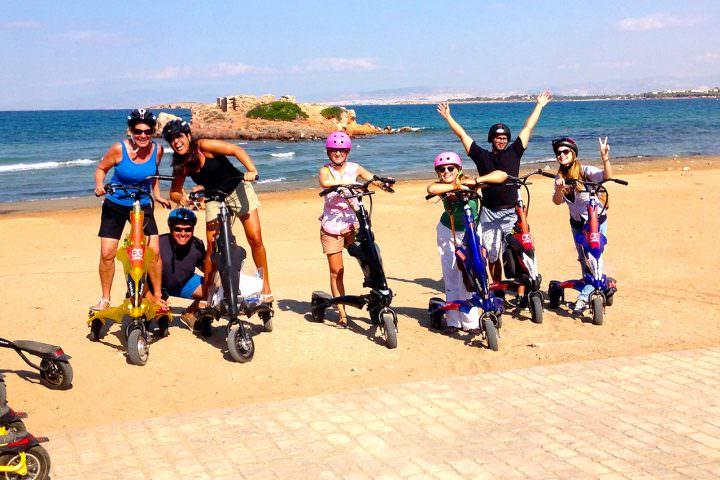 Shore Excursion & City Highlights on Trikke 13