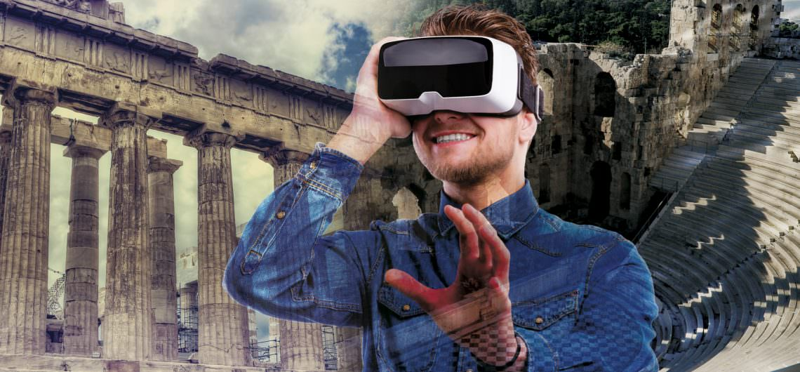 A modern way of exploring ancient Greece with virtual reality technology 1