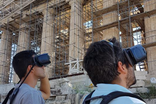 A modern way of exploring ancient Greece with virtual reality technology 3