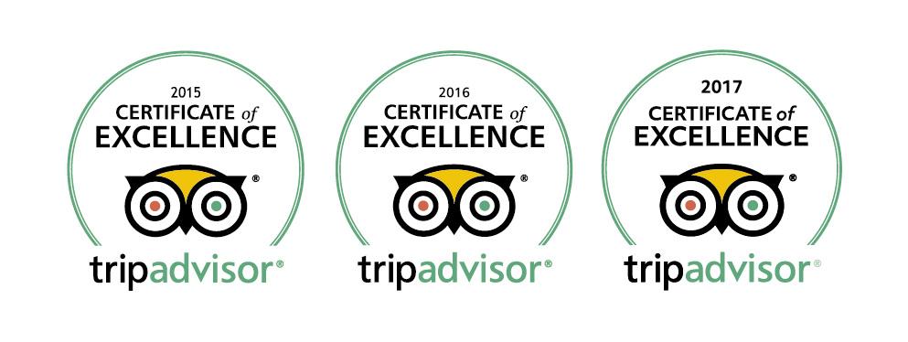 Scooterise-TripAdvisor-certificates