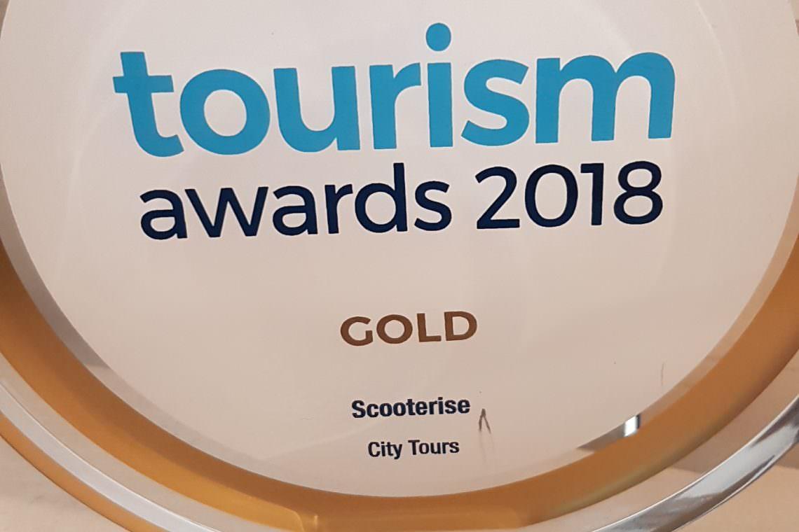 tourism award gold