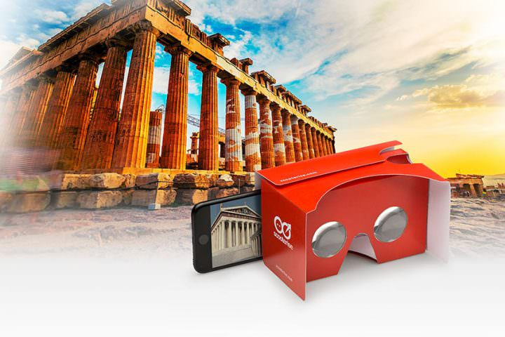 Athens Virtual Reality Self-Guided Walking Tour 3