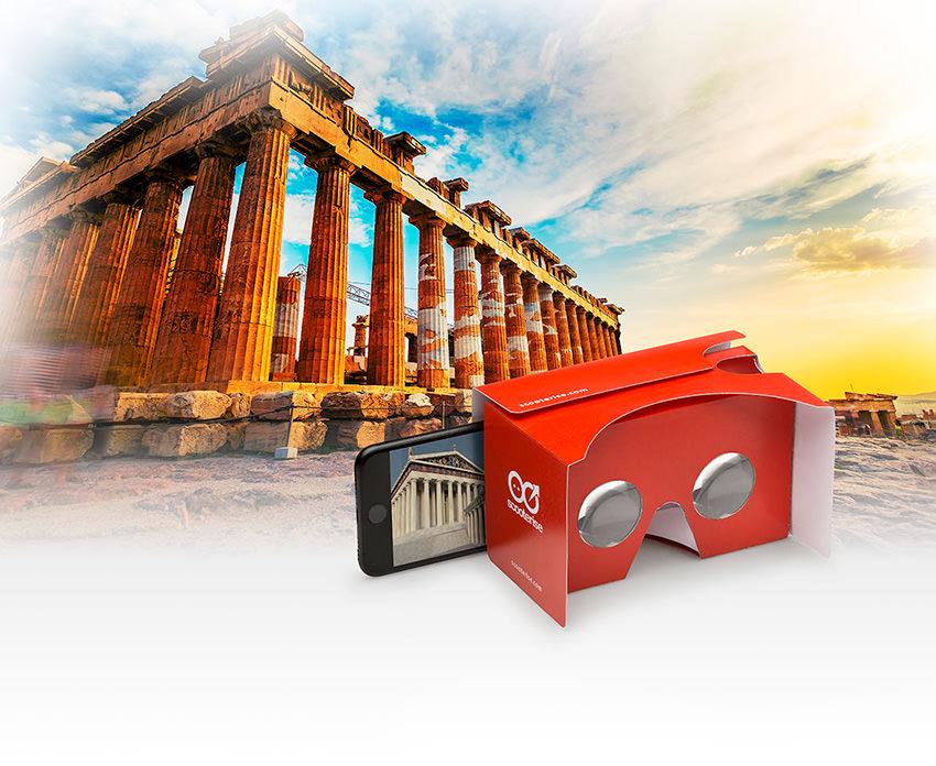 Athens Virtual Reality Self-Guided Walking Tour 3