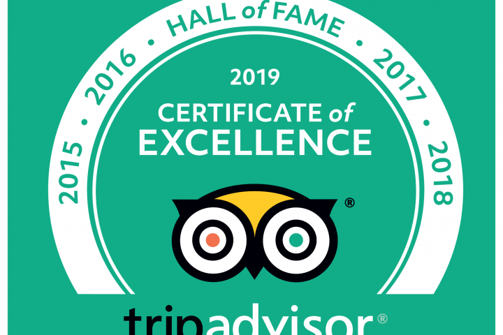 Scooterise is proud to enter Trip Advisor's Pantheon / Hall of Fame